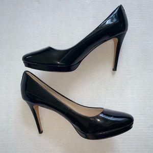 Coach Patent Leather Black Heels